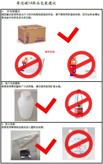 样品包装建议